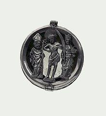 Medalion relikwiarzowy