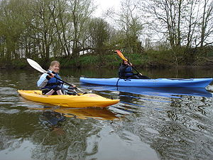 River Wye - Kayaking near Hay-on-Wye