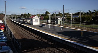 Wynnum, Queensland - Wynnum railway station