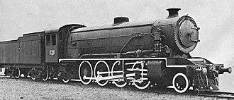 2-8-2 - Australian gauge-convertible X class