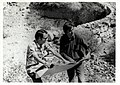 Y. Itoh and Engineer Giovani Quaglia Discuss the Water Tank Project, Yemen, 1973 (13875627263).jpg
