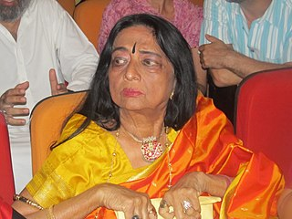Yamini Krishnamurthy Indian dancer