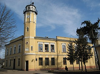Yavoriv - Yavoriv city hall