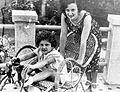 Yevgenia Ezhova (nee Feigenberg 1904-1938) with child.jpg