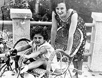 Yevgenia Ezhova (nee Feigenberg 1904-1938) with child.jpg