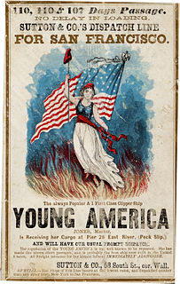Young America movement political and cultural movement in the U.S. during the mid-nineteenth century