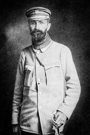 Walery Sławek - Sławek as a soldier in the Polish Legions, 1915