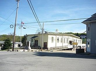 South Huntingdon Township, Westmoreland County, Pennsylvania - Street scene in Yukon
