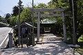 Yurahime jinja Gate.JPG