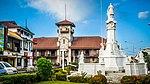 ZAMBOANGA CITY Asia latina City City Hall kaj Plaza Rizal (Ayunamiento y Plaza Rizal).jpg