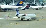 Zaventem Brussels Airport SAS Canadair CL600 OY-KFH 01.jpg