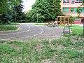 Zbraslav, dopravní hřiště u ZŠ Nad parkem, kola.jpg