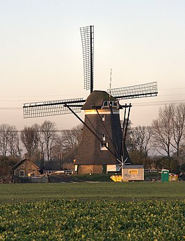 Molen No. 1 in restauratie