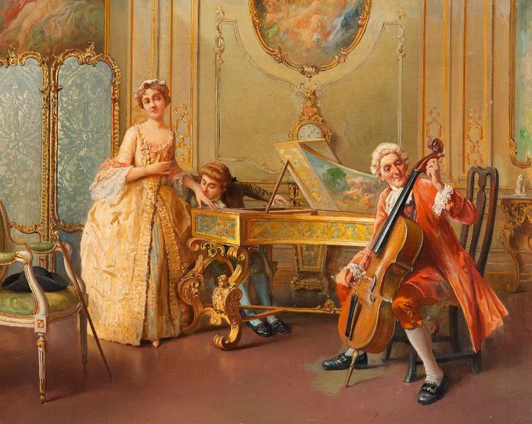 Chamber music in art - Epoca del clasicismo ...