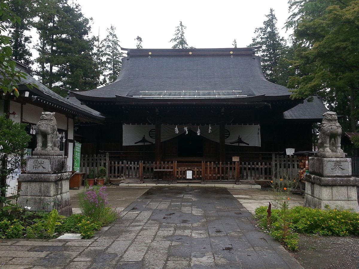 象山神社拝殿