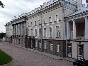 Platon Zubov - Zubov's apartments in Tsarskoe Selo stand next door to the Catherine Palace of the Empress.