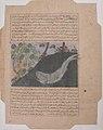 """Jonah and the Whale"", Folio from a Majma' al-Tavarikh (Compendium of Histories) of Hafiz-i Abru MET sf57-51-37-4r.jpg"
