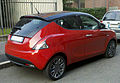 """ 12 - ITALY - Lancia Ypsilong bicolor ( black and red ) in Milan 01.jpg"