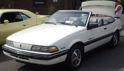 '91 Pontiac Sunbird Convertible (Cruisin' At The Boardwalk '12).JPG