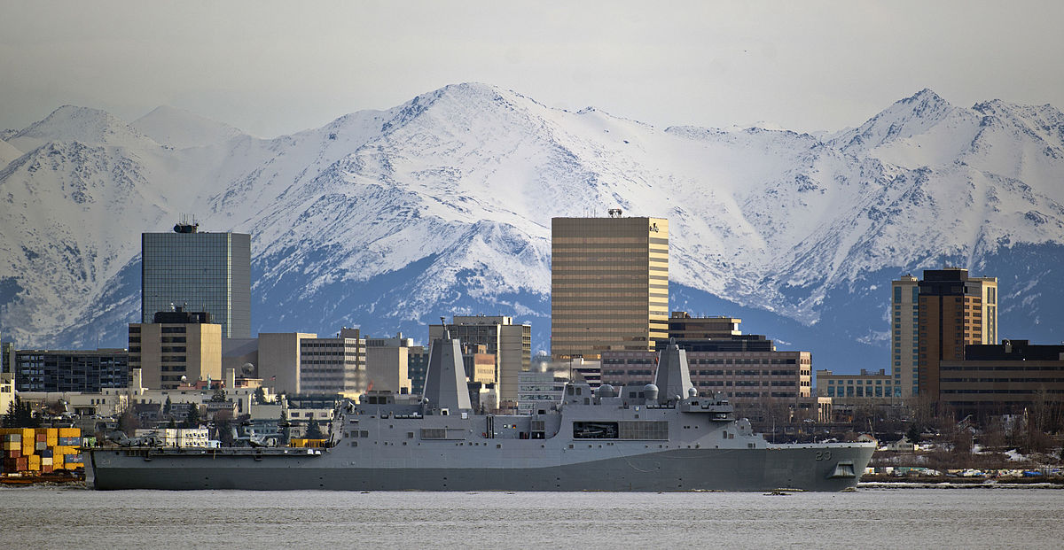 'Anchors Aweigh' - USS Anchorage leaves namesake port for first duty 130506-F-LX370-079.jpg