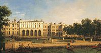 'Old Somerset House from the River Thames' by Canaletto.jpg