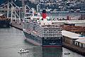 'Queen Elizabeth' arriving Wellington, New Zealand, 19th. Feb. 2011 - Flickr - PhillipC.jpg