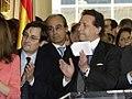 (Marhuenda y Ussía) Fernández de la Vega acude a un acto en apoyo de las víctimas del terrorismo en el diario La Razón. Pool Moncloa. 16 de julio de 2008 (cropped).jpeg