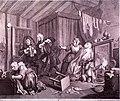 (Plate 5 of Hogarth's 'A harlot's progress') (5036276593).jpg