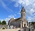 Église Saint-Aubin de Saint-Aubin-d'Arquenay. Vue nord-ouest.jpg