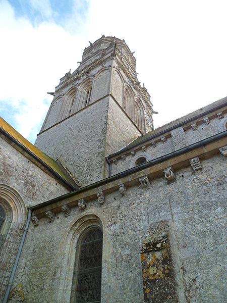 Église de fr:Sainte-Marie-du-Mont (Manche)