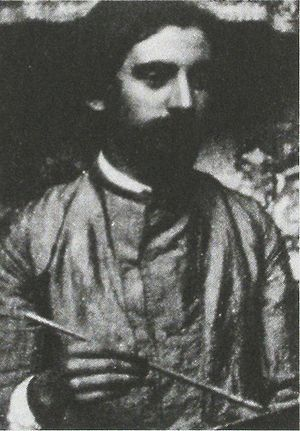 Émile Bernard - Émile Bernard, part of an anonymous photograph, c. 1892
