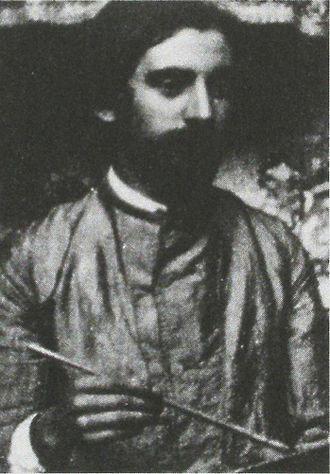 Émile Bernard - Émile Bernard, part of an anonymous photograph, c. 1892