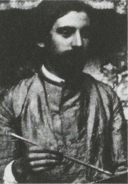 File:Émile Bernard (1861-1941) when painting. Anonymous photograph c.1887.jpg