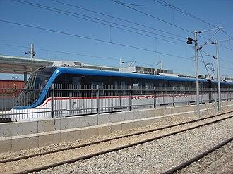 İZBAN - Image: İZBAN train at Cumaovası