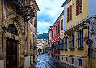Xanthi - Old town street