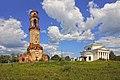 Ансамбль Казанской церкви. Вид на комлекс с поля.jpg