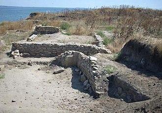 Berezan Island - Image: Археологічні розкопки 922190