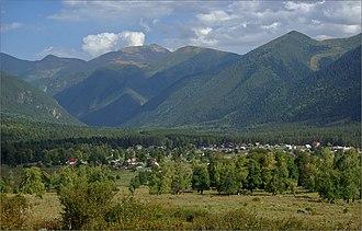 Arkhyz - The village of Arkhyz