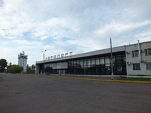 Komsomolsk-on-Amur Airport - Image: Аэропорт Хурба Комсомольский район 1