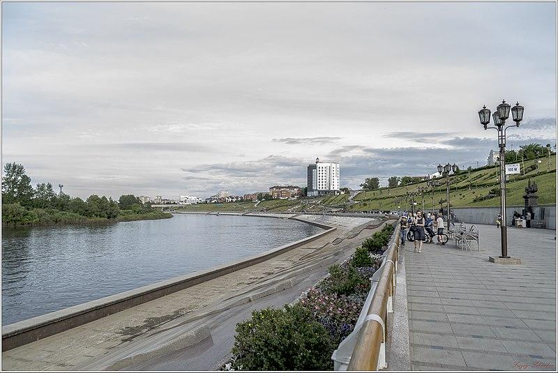 File:Вид набережной Туры - panoramio (1).jpg