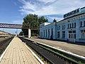 Залізничний вокзал міста Попасна та пішохідний мост.jpg