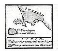Карта к статье «Киме». Военная энциклопедия Сытина (Санкт-Петербург, 1911-1915).jpg