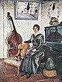 Машков И. И., Дама с контрабасом. 1915г.jpg