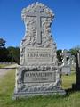 Могила генерала Абрамова Ф.Ф. на Свято-Владимирском кладбище. Кесвилл, Джексон, Нью-Джерси, США.PNG