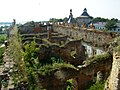Руїни палацу на території замку.JPG