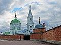 Церковь Екатерининская с частью монастырской стены,входом и часовней.jpg