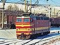 ЧС4Т-307, Russia, Saratov region, Saratov depot (Trainpix 185228).jpg