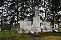 Щаслива, Братська могила і пам'ятник воїнам – односельчанам загиблим на фронтах ВВВ.jpg