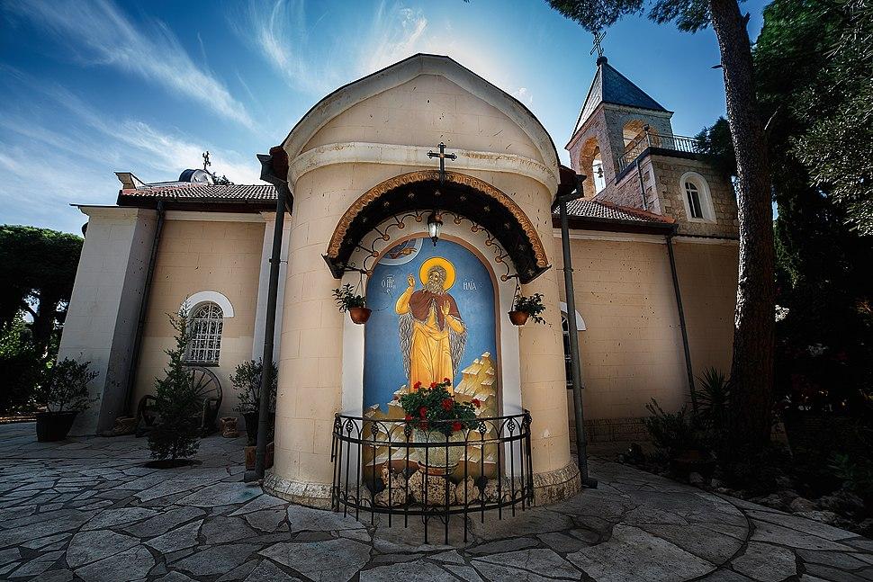 הכנסייה הפרובוסלבית במרכז הכרמל