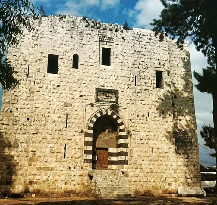 برج برسباي في طرابلس شمال لبنان